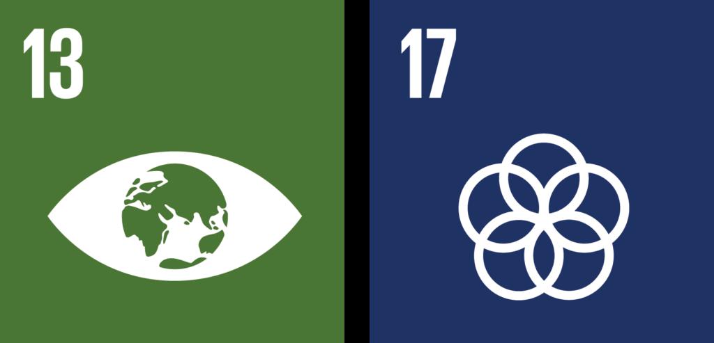 verdensmål challenges 13 og 17
